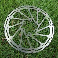 160mm/180mm Metal MTB Bike Bicycle Disc Brake Rotor Cycling Brake Pad W/6 Bolts