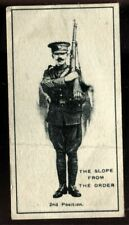 Tobacco Card, Imperial Canada, INFANTRY TRAINING, 1915, The Slope Two, #5