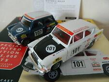 Vanguards Corgi HI1002 Historic Rally Set Mini and Anglia