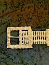 Solid Crystal Rhinestone Belt