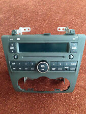 OEM 2012 Nissan Ultima coupe Head Unit with faceplate