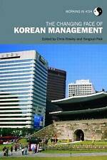 NEW The Changing Face of Korean Management (Working in Asia)