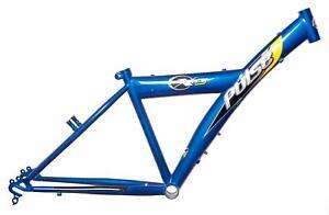 "PULSE X8 24"" BIKE/CYCLE FRAME (SIZE 14"") TURQUOISE BLUE V-BRAKE (1"" HEADTUBE)"
