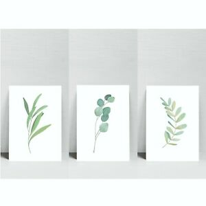 Botanical Print Leaf Plant Picture Prints Wall Art Living Room Home Decor Poster