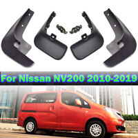 Front Rear Mud flaps Splash Guards For Nissan NV200 Vanette Evalia 2010-2019