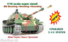 Heng Long Jagdpanther radio control tank  Metal  PRO --Upgraded Version 2.4G !!