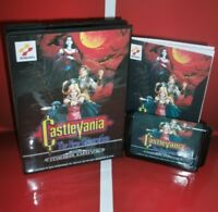 Castlevania - the New Generation EU Cover with Box and Manual For Sega Megadrive