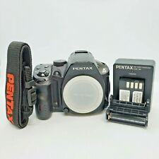 RICOH Pentax K-30 16.3MP DSLR Camera Black Body Many Original Accessories Great!