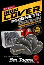 Ben Sayers England Premium Golf Iron Club Head Cover Magnetic 10pcs Driver Wood