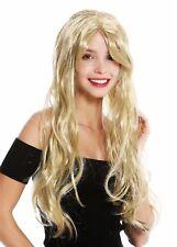 Perruque Femmes Halloween Carnaval Long Lisse Blonde Blond Clair Fée 90924-ZA89