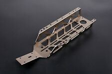 CNC Keel main frame chassis titanium for 1/5 HPI BAJA 5B 5T 5SC SS RC CAR PARTS