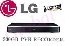 LG TWIN HD TUNER 3D BLURAY PLAYER 500GB HDD PVR RECORDER BLU RAY WIFI HR945T