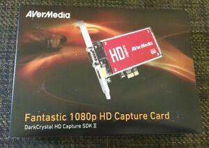 AVerMedia C729 DarkCrystal HD Capture SDK II, Fantastic 1080p HD Capture Card