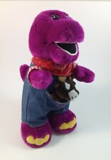"Farmer Barney Plush With Horse In Pocket 13"" Lyons"