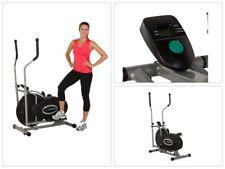 Exerpeutic Aero Air Elliptical Bike Machine For Trainer InHome Body Exercise Gym