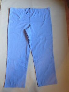 Ceil Blue Medical Drawstring Scrubs Unisex Pants Bottoms Size M