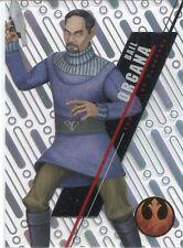 Star Wars 2016 High Tek Pattern 1 Form 1 Base Card SW-55 Bail Organa