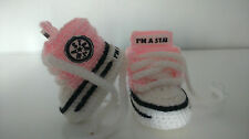 BABY CROCHET HANDMADE SHOES BOOTS BOOTIES KNITTING FIRST SHOES TRAINERS