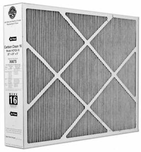 "Lennox X6675 Carbon Clean 20"" x 25"" x 5"" MERV 16 Filter for HCC20-28"