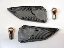 Schwarze Heck Blinker Gläser Suzuki GSX R 1000 K9 L0 L1 L2 L3 L4 L5 rear signals