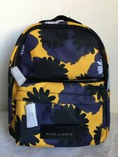 c3237ce24f6d03 NWT!!Marc Jacobs Nylon Varsity Pompom Printed Backpack $250 GINGER MULTI
