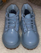 TIMBERLAND BLUE  BABY TODDLER BOOTS 4