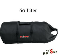 Büse Gepäcktasche, ca. 60 Liter, wasserdicht, für Motorrad etc., Gepäckrolle