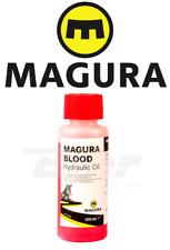 0721820 Magura Blood Olio Pompe Freno / Frizione Rosso 100 ml Minerale Moto