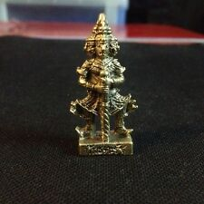 Lord Wedsuwan Giant 4 faces World protector Buddhist God Thai Amulet Lucky DAF