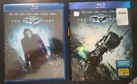 The Dark Knight (Blu-ray Disc, 2008, 2-Disc Set) Good Condition