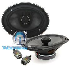 "MEMPHIS MCX692 6""x9"" COAXIAL SPEAKERS ALUMINUM TWEETERS CROSSOVERS CAR AUDIO NEW"