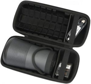 Case Travel Bag For Bose Soundlink Revolve+ Plus Bluetooth Speaker Fits Charger