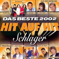 Hit auf Hit 2002-Das Beste-Schlager (Koch) G.G. Anderson, Rosanna Rocci.. [2 CD]