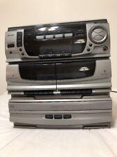 Memorex Mx5520Spka Cd Cassette Turntable Reciever System