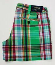 Ralph Lauren Women's Shorts Multi Check Size  Uk/8 US/4