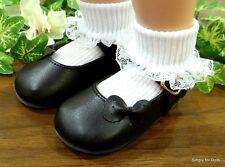 "MY TWINN Black Diamond pattern DOLL SANDALS Shoes fits 23/"" POSEABLE DOLL"