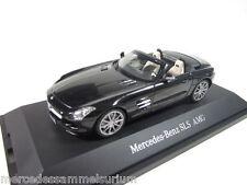 Mercedes Benz SLS AMG Roadster Obsidianschwarz 1:43 Neu OVP