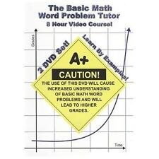 The Basic Math Word Problem Tutor - 8 Hour Course - Learn By Examples! - Additio