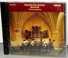 OPUS 3 CD-7810: Stockholm Guitar Quartet - TRANSCRIPTIONS 1995 SWEDEN OOP SEALED