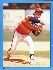 New listing 1982 Topps Nolan Ryan Astros #41 Baseball Card Mini Sticker! FREE SHIPPING