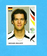PANINI-GERMANY 2006-Figurina n.25- BALLACK - GERMANIA -NEW BLACK