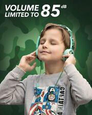 Mumba Volume Limited Over Ear Headphones 85 Safe Listening Adjustable Headsets