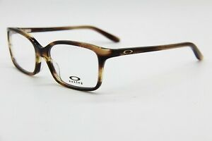 NEW OAKLEY OX1130-0852 BROWN INTENTION AUTHENTIC RX EYEGLASSES 52-16