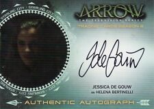 Arrow Season 2 Jessica De Gouw as Helena Bertinelli JDG1 Auto Card