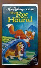 1994 The Fox and the Hound VHS Movie Walt Disney's Black Diamond Classic