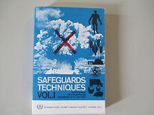 SAFEGUARDS TECHNIQUES-VOL. 1-JULY 6-10 1970-ULTRA RARE PAPERBACK
