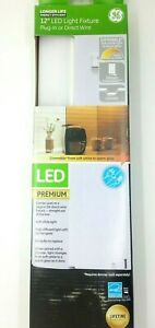 """GE General Electric 12"""" LED Premium Light Fixture Dimmable Linkable 506 Lumens"""