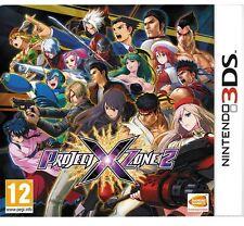 PROJECT X ZONE 2 TEXTOS EN ESPAÑOL NUEVO PRECINTADO 3DS