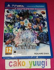 World of Final Fantasy PS Vita Square Enix