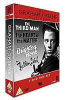 The Graham Greene Collection (DVD, 2006, 4-Disc Set) Fallen Idol Third Man (L13)